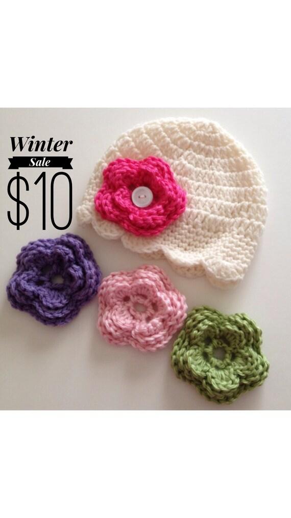 Baby Girl Hat Baby Hat Newborn Hat Crochet Hat Photo by ...