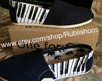 RubiiShoos Original Musician Piano love TOMS