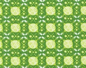 ON SALE - 1/2 Yard - Ashton Road - AVW-14840-47 - Grass - Valori Wells - Robert Kaufman Fabrics - Fabric Yardage