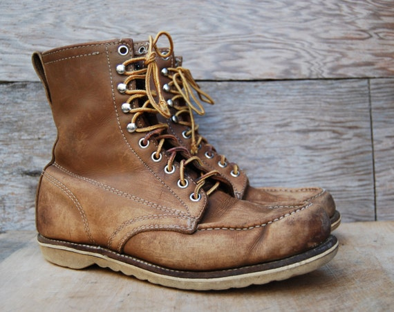 Moc Toe Work Boots - Cr Boot