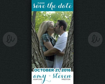 20 colors to choose from! 2 X 3.5 Save the Date wedding MAGNETS