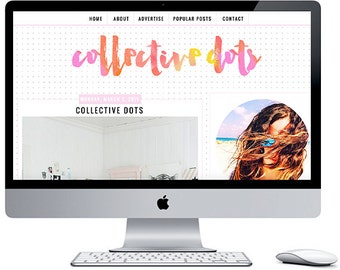 Collective Dots - Blogger Template