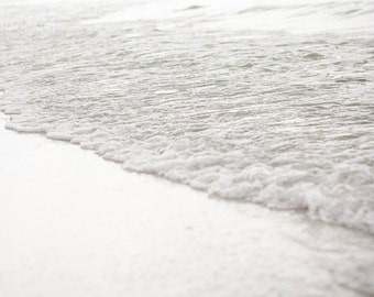 Ocean Tide Fine Art Photography Print - Beach, Sand, Nautical, Ocean, Nature Photography