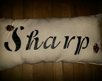 Personalized Muslin Pillow