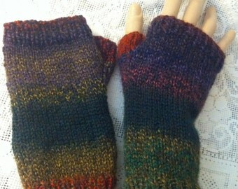 Marble Fingerless Arm Gloves