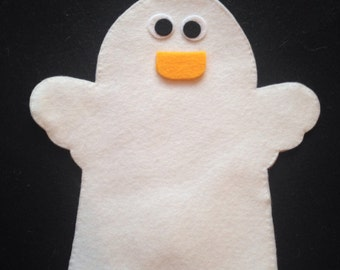 Easter Duck Felt Glove Puppet