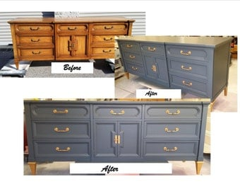 Customize a Beautiful Media Console, Credenza, Console, Changing Table, Sideboard