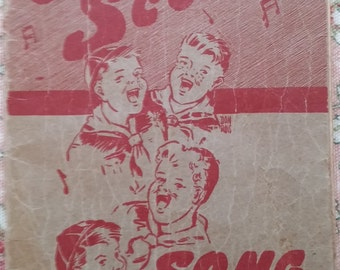 1947 Cub Scout Song Book