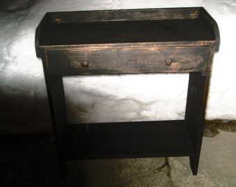 Wash Stand with Drawer