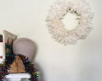 Round and Fluffy Wall Hanging