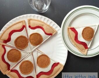 Thin Crust Pepperoni Felt Pizza