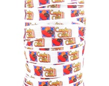 "Candy Crush 5/8"" Fold Over Elastic 5 yards"