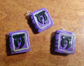 Skyrim Inspired~ Tiny Spell Tome Charms