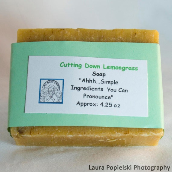 Cutting Down Lemongrass Soap, Handcrafted Soaps, Body Care, Natural Soaps
