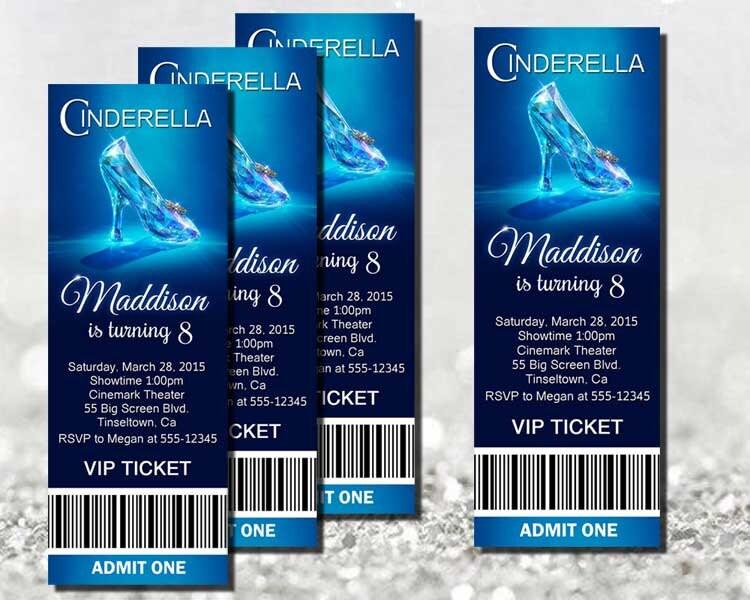 Ball Ticket Template TicketCreator Create Design and Print – Prom Ticket Template