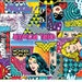 Girl Power II / Comic Collection / 100% Cotton Fabric / Camelot Cottons / Bat Girl / Wonder Woman