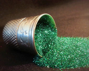 glitter - jade ultra-fine polyester