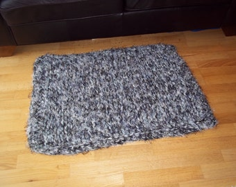 Extreme Knitted/ Crocheted Rug