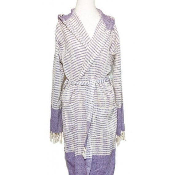 Bathrobe Beach Robe100% cottonHand-woven Turkish