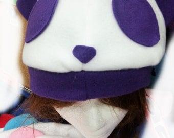 Fleece Panda Hat