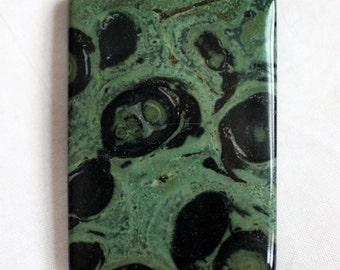 Kambaba Jasper Gemstone Pendant - 35mm x 50mm