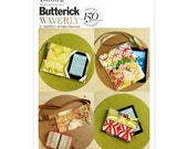 Butterick B6002 Zipper Case, Fanny Pack and Electronic Device Cases, Fannypack, Gadget Case New, Uncut, Factory Folds