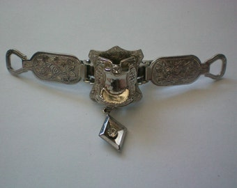 Western Saddle Collar Clip - 3668
