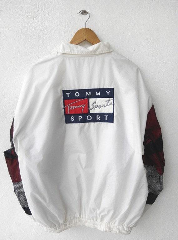 90 s vintage vtg hilfiger sport hip hop clothing
