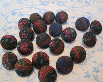 Vintage covered buttons  20 for 2.99