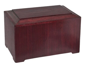 Rosewood Marquis Wood Cremation Urn
