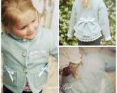 Country Girl Jacket PDF Pattern 12m - girls 8