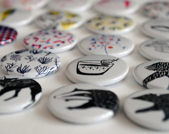 One Handmade Pin Badge