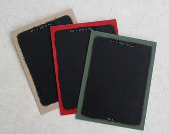 Magnetic Chalk Prayer Board - Vertical