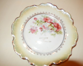 SANTA BARBARA CALIFORNIA Souvenir Plate