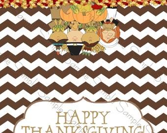 Thanksgiving Printable Bag Topper
