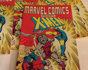 Marvel Comics Presents X-Men Mini Comic (1988) comic books