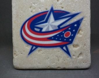 Columbus Blue Jackets Coaster (4-Pack)