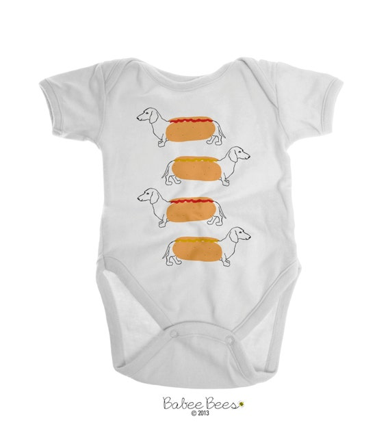 Dachshund baby clothes dog baby clothes dog baby clothing baby boy