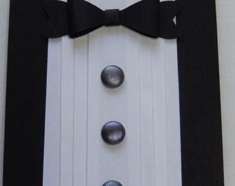Black Tuxedo Card