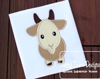 Goat Applique Design