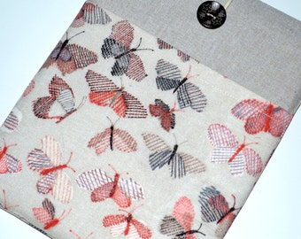 Kindle Case, kindle touch case, kindle sleeve, nook Cover  kindle Case Nook Color, Kobo, Sony, paperwhite case, fire case  cover- Butterfly
