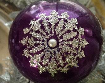Sale Glass Ornament