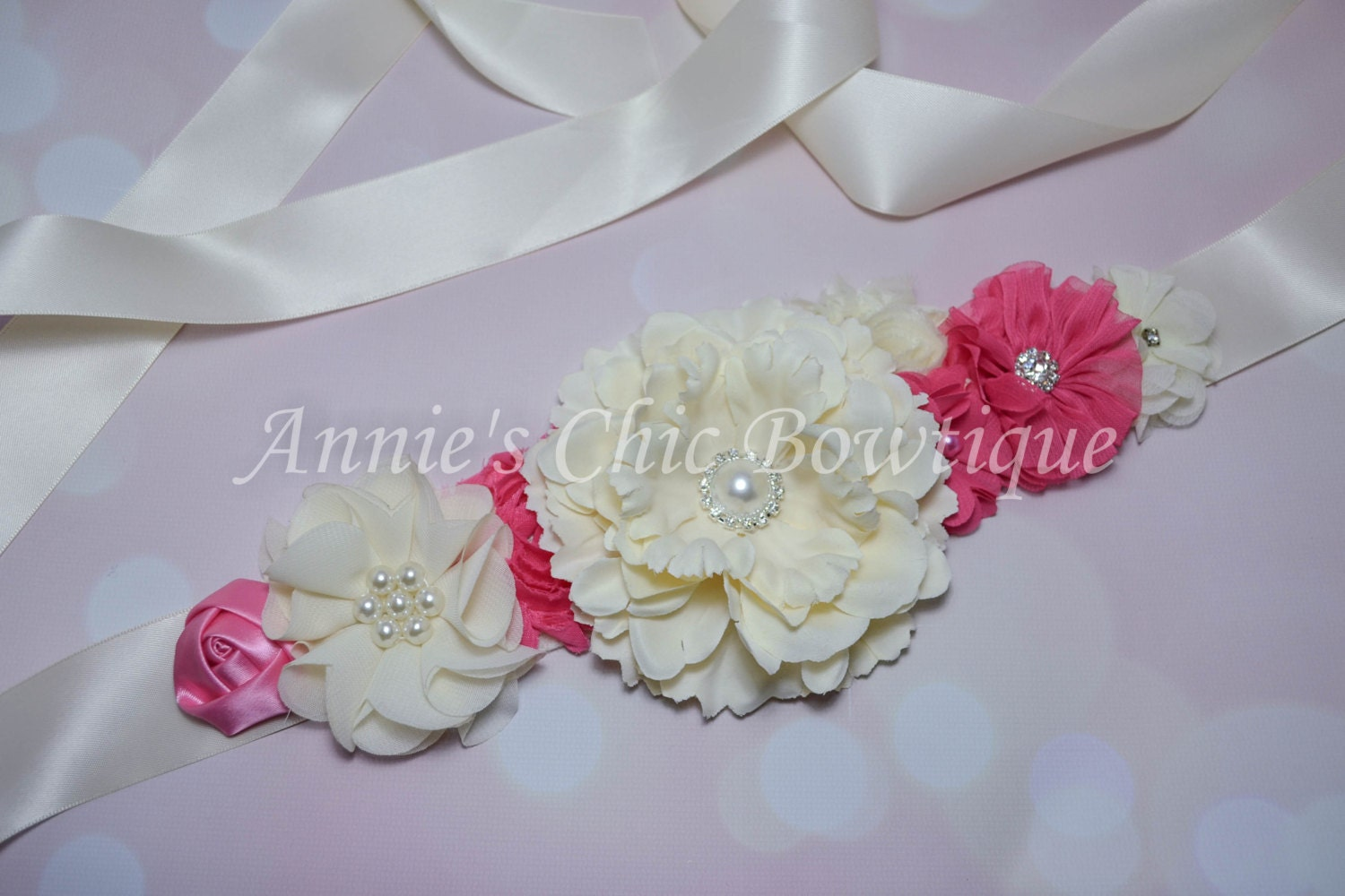 maternity sash girl baby shower sash its a by annieschicbowtique