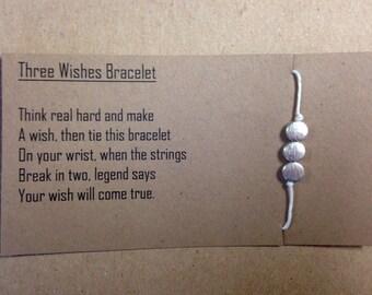 3 wishes bracelet