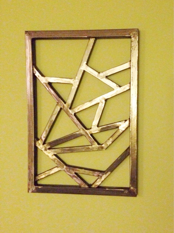Geometric Metal Wall Art geometric metal wall art | lv designs