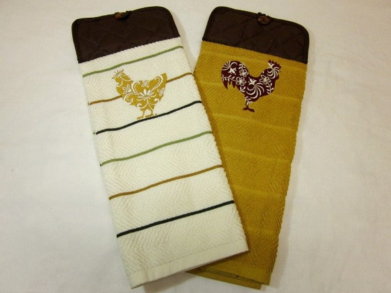 CLEARANCE ITEM 25% OFF Kitchen Towel Sets Embroidered