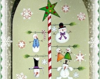 Snowy Tree by Sharon Bond. PWF E-Pattern
