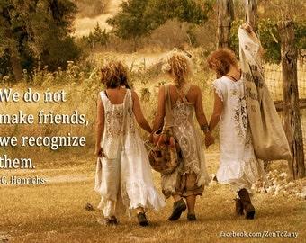 FRIENDSHIP MAGNET (friendship quote)
