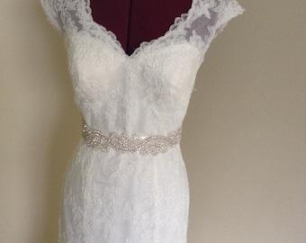 bridal sash, bridal belt, wedding dress belt, wedding dress sash