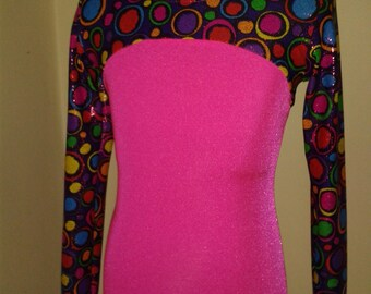 Child's leotard with sleeves - gymnastics